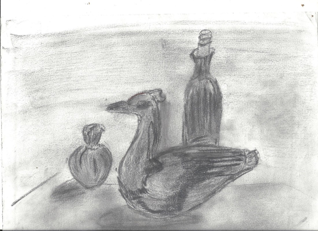 duck drawing 001