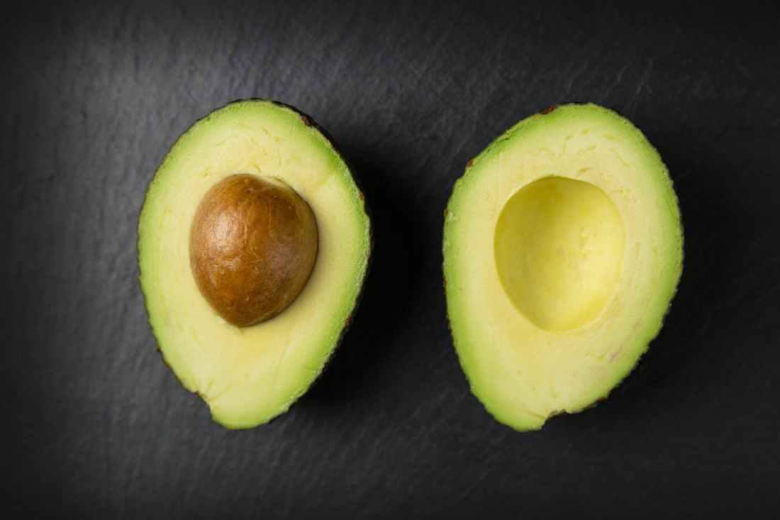 avocado close up colors cut